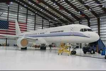 aircraft in hanger350 234